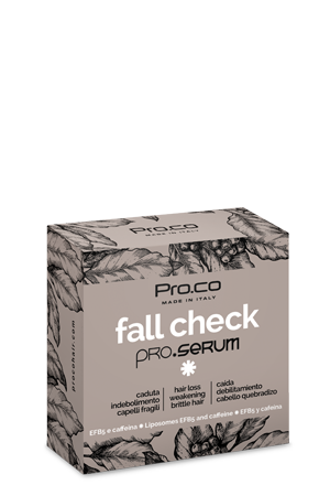 Fall Check Pro.Serum | prodotto professionale per capelli fragili